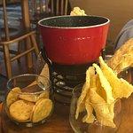 papad fondue