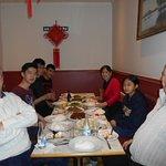 Födelsedagsfest på Amitai.