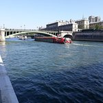 River traffic.