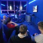 gra na bieżni VR