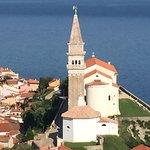 Piran Town Walls ภาพถ่าย