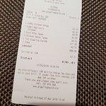Giggling Squid Stratford Upon Avon - bill