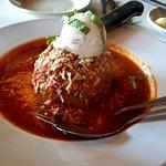 One Giant Meatball!