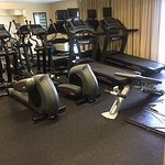 Gym equipments not bad.. yet no breakfast buffet its on alacarte😞