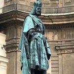 Statue at Charles Bridge