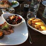 Pouletbrust, Grillgemüse, Rosmarinkartoffeln (<- nicht ganz typisch, aber trotzdem fein!)