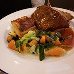 Brasied Shoulder of Lamb, fork-tender.