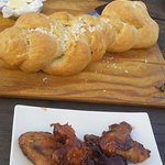 THE BREAD and Sticky Wings!
