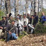 Morocco Planet Team with Nat Geo Wild in a Birding Photography tour in the Forest of Azrou