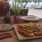 lunch (sangria and tapas)