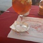 white sangria dinner