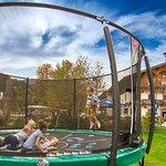 Outdoorspielplatz- Trampolin
