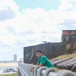 Um lugar privilegiado de frente para a Baía de Guajará e dentro do Forte do Presépio