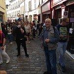 Vista del barrio de Montmartre hacia la place du Tertre