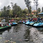 Boating in kodai lake