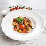 Белло Ортаджи - прекрасное сочетание нежной баранины с золотистыми овощами, ароматной кинзой и ч
