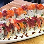 Sushi Bar! Meet Pepe at @7pecadosrestobar! The best sushi!