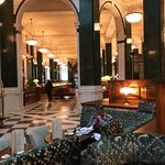 The hotel has been beautifully developed in what was the Old Midland Bank