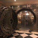 Imagine dining in the vault -all original