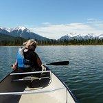Canoeing Vermillion Lakes