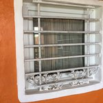 Bars at the window
