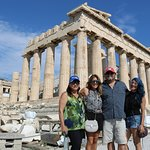 Visiting the Acropolis with Georgia from PK Travel
