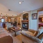 Inside Corner Suite Living Area