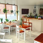 The Smashing Kitchen beautiful bright full of plants venue