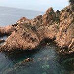 Bild från Via Ferrata Cala del Moli