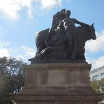 Statue in square