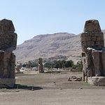 ภาพถ่ายของ Colossi of Memnon
