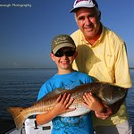 Great Fishing For Families. Located Near Orlando. Florida Red Drum or Also Called A Redfish.