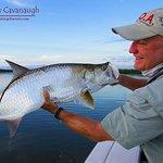 Backcountry Tarpon Fishing Near Cocoa Beach and Daytona Beach. Fly or Spin On Light Tackle.