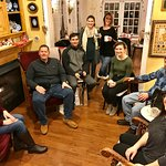 Friends reunion : they came from NYC and D.C. to gather in New Hope at Wedgwood Inn