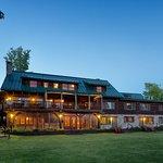 Loon Lodge as viewed from Rangeley Lake