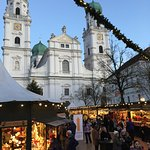 St Stephen's from the Christmas Market
