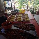 cocinando el famoso Tikin Xic style fish