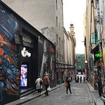 ภาพถ่ายของ Hosier Lane