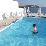 Luxury pool with amazing backdrop
