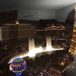 View of Bellagio Fountains from Planet Hollywood Strip View Room