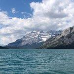 Lake Minnewanka ภาพถ่าย