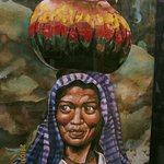 "Pintura a la Acuarela ""La Sonrisa de la Michoacana"""