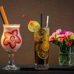 smoothies and Long island ice tea
