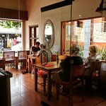 Young & Old Couple, Juices & Beer, Modern & Traditional all in Brata Cafe