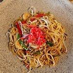 Yaki fried noodle. Portion a bit small.