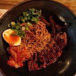 The bulgogi noodle. Taste is ok but portion was very small. A bit expensive