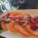 Carpaccio of melon