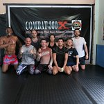 Group photo from the end of one of our grapping and MMA classes