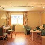 Wohn/Küche - Appartement Löwenzahn für 2 - 4 Gäste