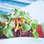 Rainbow Carpaccio Salad